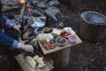 camping idea food