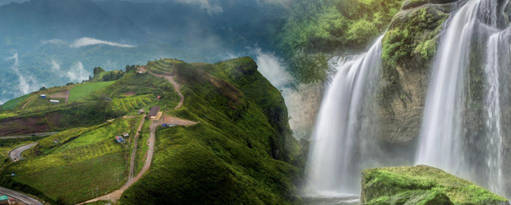5 tourist attractions in the rainy season Green season full of freshness