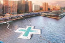 + POOL New York City Floating Pool